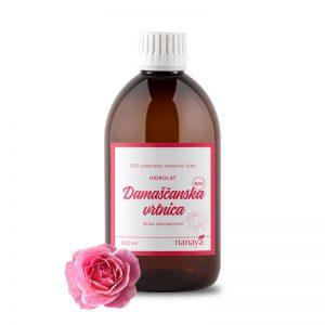 Hidrolat vrtnice (damaščanska), BIO