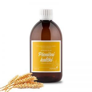 Olje pšeničnih kalčkov, hladno stiskano