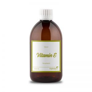 Vitamin E, tekoči