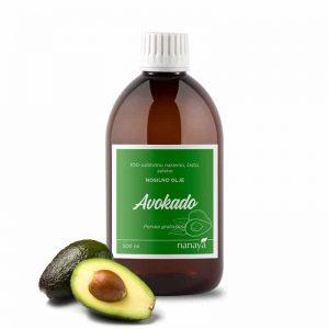 Avokadovo olje, zeleno