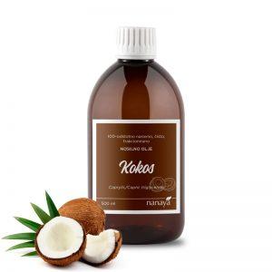 Kokosovo olje, frakcionirano (tekoče)